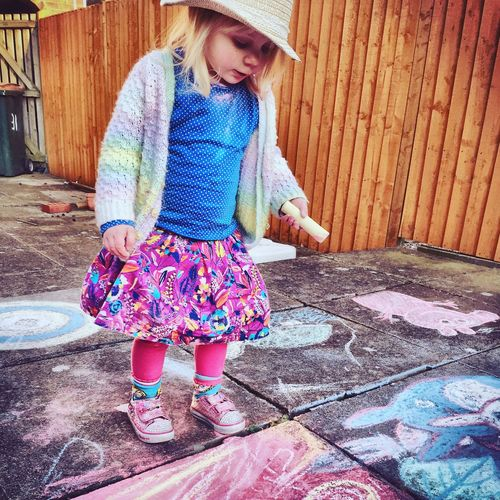 Toddler  Art Art, Drawing, Creativity ArtWork Toddler Art Chalk Chalk Art Patio Art Pavement Art The Portraitist - 2016 EyeEm Awards