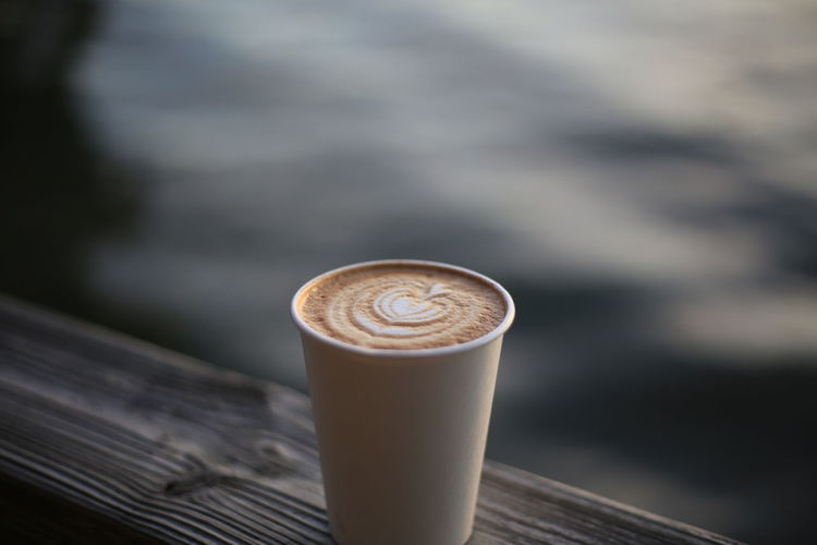 Austin Texas Cappuccino Close-up Coffee - Drink Coffee Art Coffee Cup Coffee Latte Art Drink Focus On Foreground Food And Drink Freshness Froth Art Frothy Drink Lake Lake Austin Latte Mozarts Coffee No People Outdoors Refreshment
