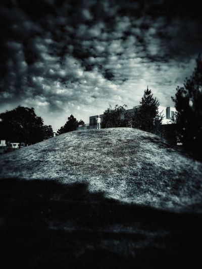 Sky Cloud - Sky Outdoors Pixelated Parks And Recreation Surrounding Bkackandwhite Childhood Scary Sky