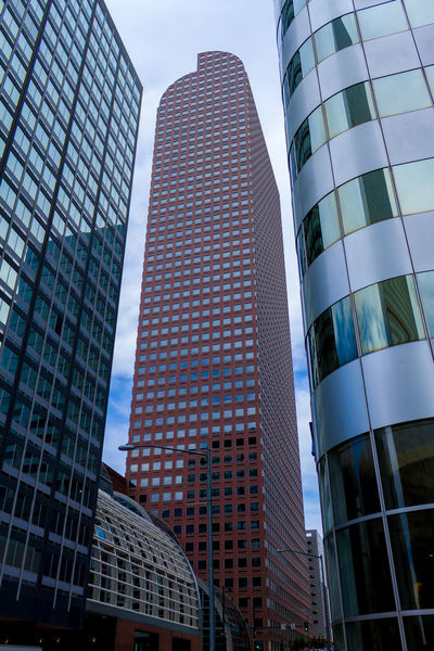Architectural Feature Architecture Building Building Exterior Built Structure Capital Cities  City City Life Colorado Day Denver Downtown Low Angle View Modern No People Office Building Outdoors Repetition Skyscraper Tall Tall - High Tower
