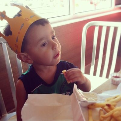 My nigguh kinging it ! Bigboyjulian Love This Brat to death proud /dad