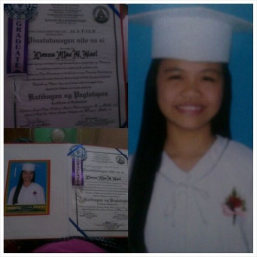 Achievement! :') Next Chapter Of my Life!! :)) medyo natatakot ako!! ו×