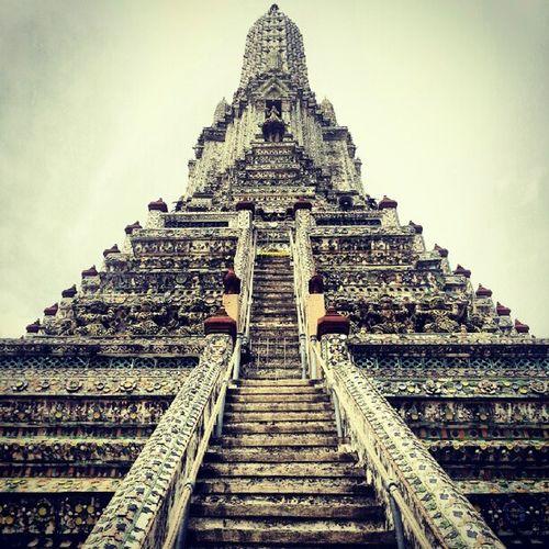Wat Arun BKK crazy steep