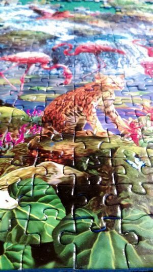 No People Day Multi Colored Occupation Canicule ☀ Puzzle Time!!!! Delire! Psyco Where Is The End? J En Voix Pas La Fin!! Puzzle 3000 Pieces Panorama Sun ☀ France Sud