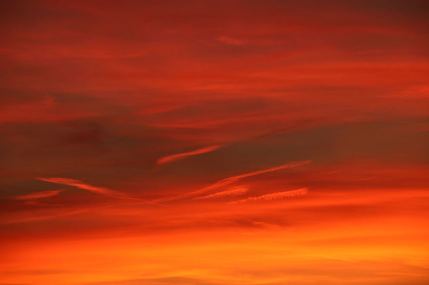 Sunset Backgrounds Red Sky Only Multi Colored Abstract Space Dramatic Sky Sky Cloud - Sky Abstract Backgrounds Moody Sky Cloudscape Romantic Sky