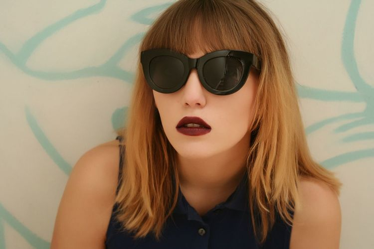 Beauty Sunglasses Portrait Beautiful People Teenager One Person Females People Women Human Lips Young Adult Adult Human Body Part Outdoors Day Uniqueness Style Fashion Fashion Photography Lipstick Indoors  The Portraitist - 2017 EyeEm Awards