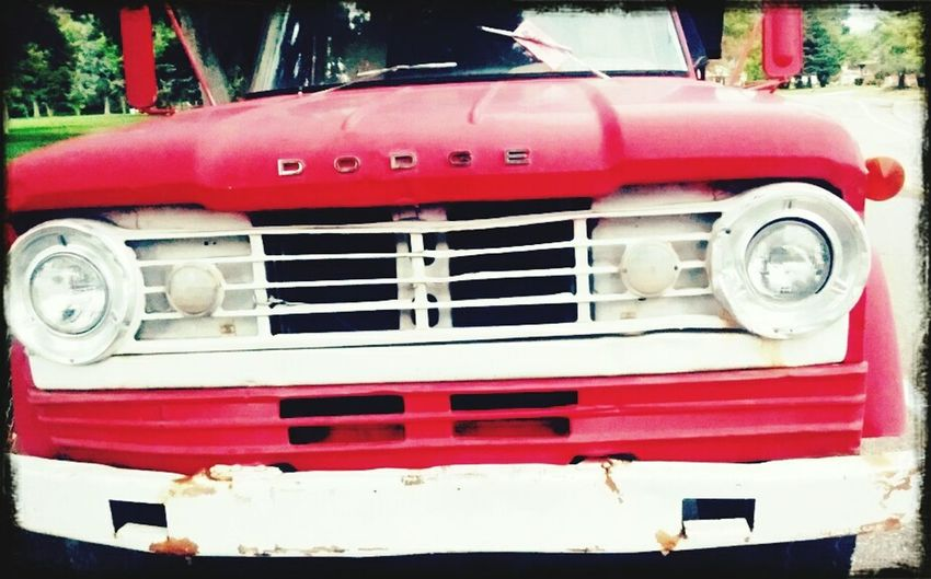 Love old trucks.. Dodge Truck Countrysong Old Red EyeEm Best Shots