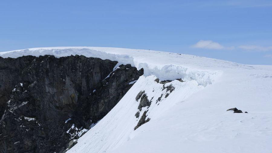 Norwegen Snow