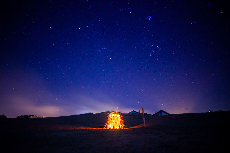 Night Sky Star - Space Scenics - Nature Astronomy Nature Space Star Land Illuminated Beauty In Nature Star Field Mountain Tranquil Scene Galaxy Infinity Outdoors Idyllic Blue No People Bonfire