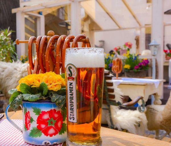 Staropramen Beer Drinking Beer Beer Time Beer Garden