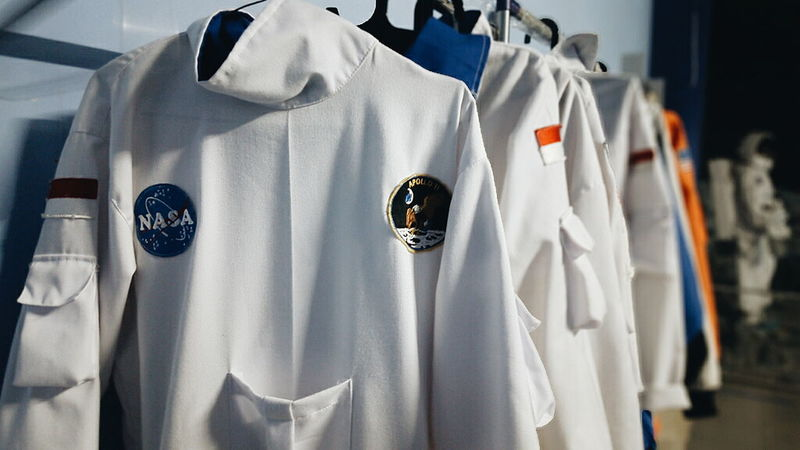 Indoors  Clothing Close-up Laundry Clean Neat Clothes Washing Person Focus On Foreground Man Made Object Suit Astronaut Collection Variation Choice Hanging