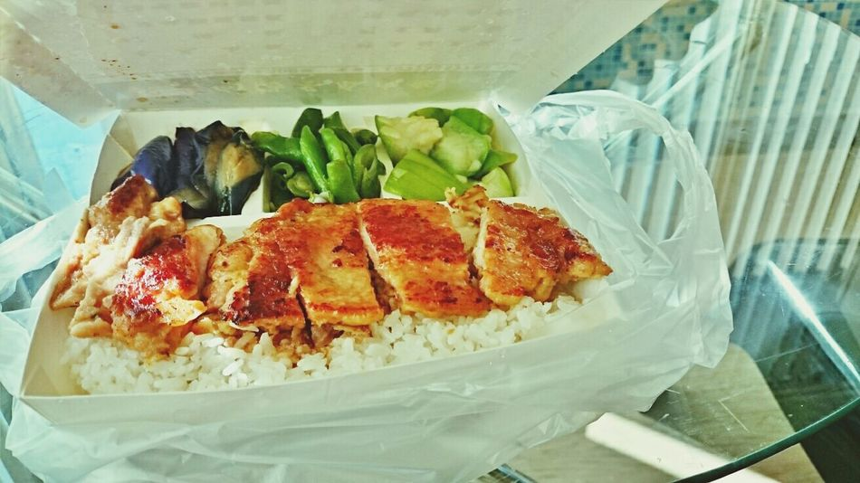 Lunch today! Cheap and healthy! 90 taiwan dollars~~~ Taiwanfood Lunch Delicious Cheap