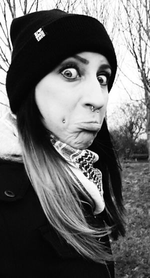 Check This Out Funny Faces Septum Peircing Just Smile