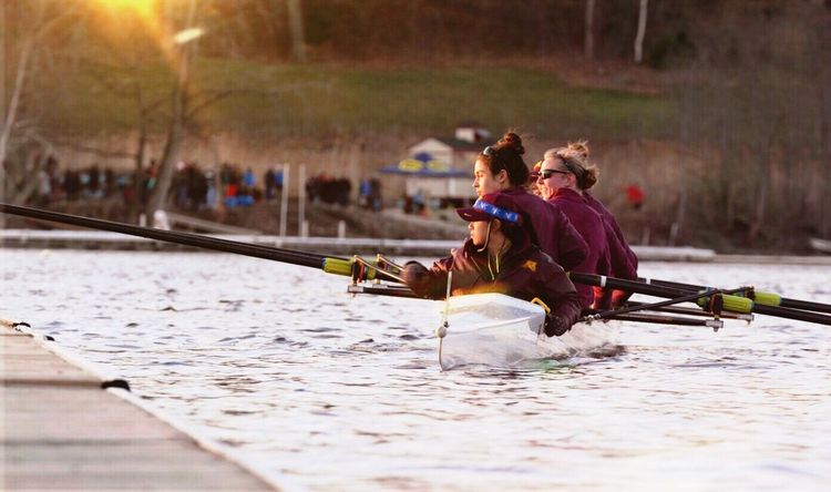 These young women are fierce and not afraid. They work hard, at the top of their classes, Deans listed, honors, volunteers, you name it. Training twice a day, pushing to cross the line first. Rowing Big10 College Athletics Athlete Cox University Of Minnesota Fish Creek Saratoga Springs