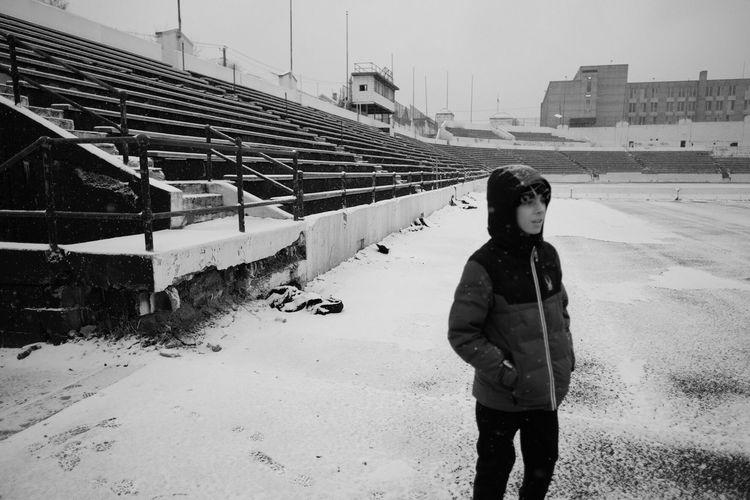 Abandoned Stadium in Paterson, NJ