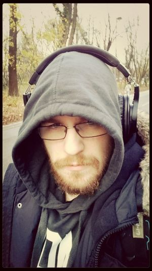 After Training A Walk In The Park Wintertime Headphones