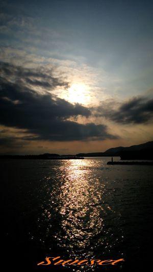 Miyazaki Kushima Relaxing Fresh Air Yuka  Enjoying Life Sunset Pray For Kyushu 夕凪