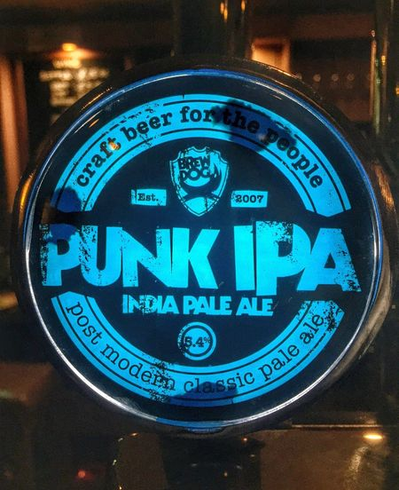 I❤️IPA...sometimes ? Beer IPA Pub Night Out Drinks Eye4photography  Taking Photos Blue Punk Steampunk
