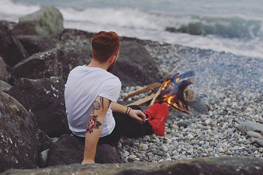 I see fire Love Lifeforfun Lifeisgood Ginger Gingerman Beard Beardman Beardgang Beardlife Beautiful Tats Tattoo Ink Inked Tattoolife Travel Oldschool Karma Man Me Hairstyle StayTrue  Staypositive Aroundtheworld Nike rusboroda relax sochi red gingerbeard showing imperfection