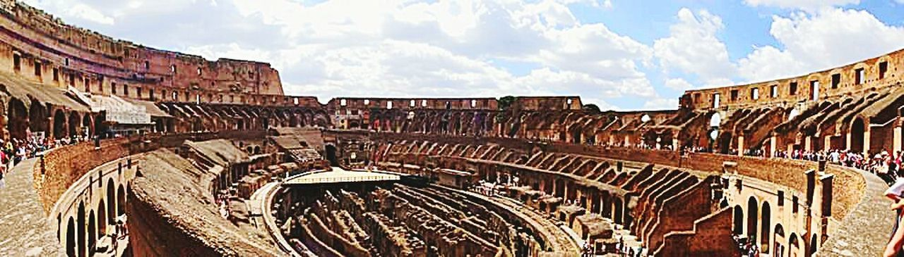 Inside Colesseum Rome Rome Italy Architecture Architecture_collection Architectural Detail Wideangle Panoramic Photography Panoramic Panoramic View Panoramic Landscape Historical Building Historical Monuments Gladiator Gettyimages Eyeemmarket Iconic Images  Iconic Buildings Historical Place Throughmyeyes Historic Rome, Italy Panoramicview Everything In Its Place Moving Around Rome