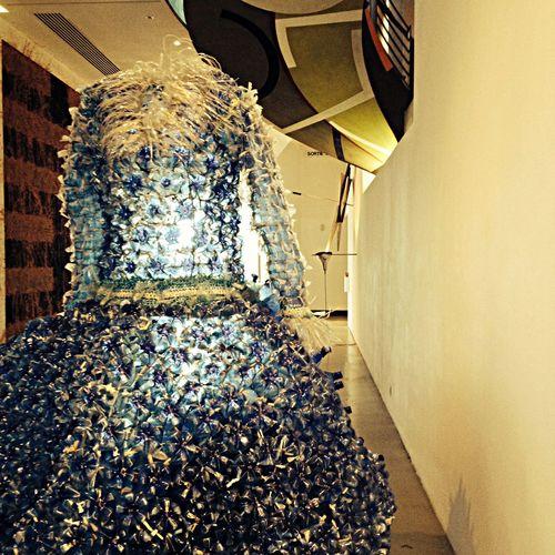 Art Dress Bottle Plastic