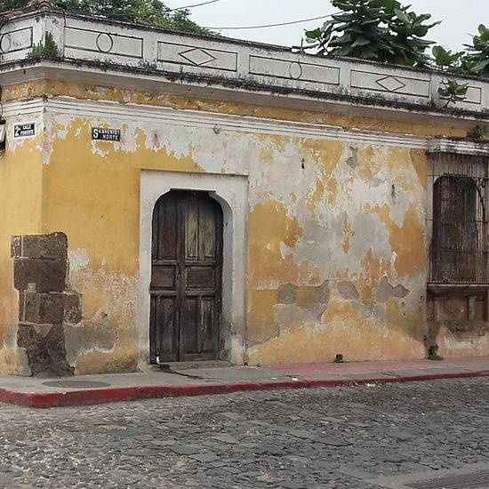 Built Structure No People Day Building Exterior Beauty In Nature Outdoors Antigua, Guatemala