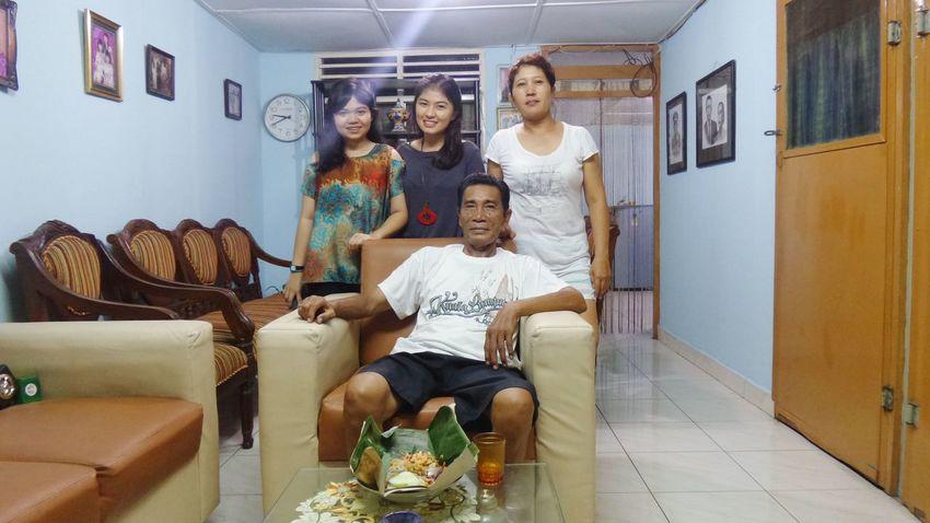 Family Portrait Grandpa Aunty