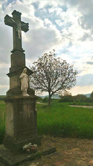 No People Tree Sky Outdoors Day Religion Kővágóörs, Hungary
