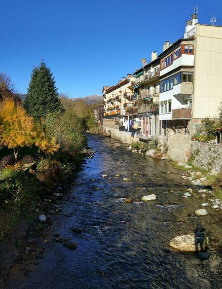 Camprodon Catalonia Catalunya River River View Riu Pont