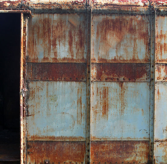 Abandoned Bad Condition Barrel Brown Close-up Container Damaged Day Decline Deterioration Entrance Metal No People Obsolete Old Outdoors Run-down Rusty Weathered Wood - Material