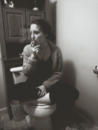 Smoking Gottadiesomehow Marlboro Smokinggirl
