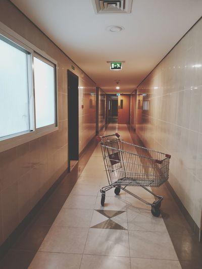 Shop Shopping Cart Consumerism Buying Caddy Caddie Supermarket Shopping Cart Consumerism Empty Absence