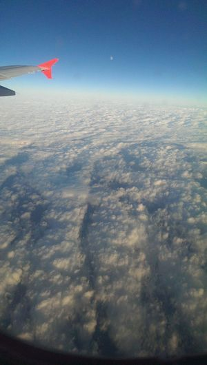 Filippa K Asks: What Inspires You? On The Plane Over The Clouds Sunny Up Here