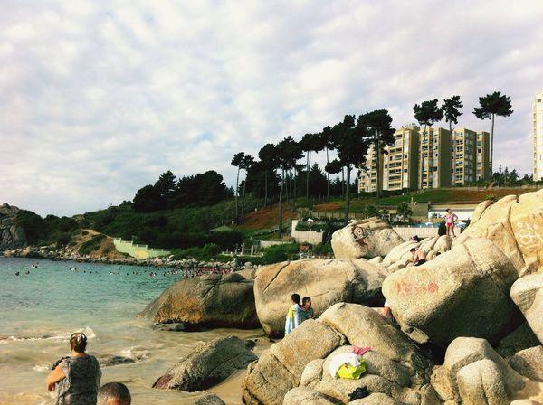 El Canelo, febrero 2015. El Canelo Playa Beach Verano 2015 Febrero2015 Litoral Central