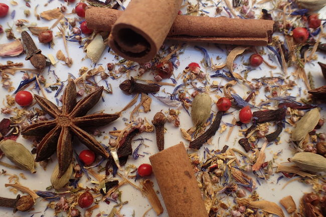 Cinnamon Close-up No People Spice Star Anise Dried Edible Flowers Winter Christmas Time Ingredient Anise Cardamom Backgrounds Cloves Food Clove