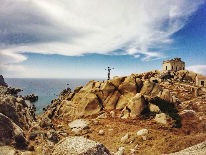 Wildlife & Nature Nature Nature Photography Free Freedom Visual Poetry Sea And Sky Visualoflife EyeEm Nature Lover EyeEm Best Shots Gopro Goprooftheday Sardinia Sardegna Italy  Rocks Outdoors Sublime Living Landscape With Whitewall The Great Outdoors - 2016 EyeEm Awards Breathing Space Go Higher