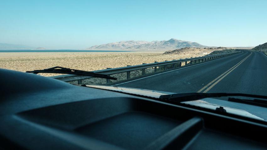 Road to Burning Man 2016 - Nevada desert BM BM2016 BurningMan2016 BurningManFestival Desert Desert Beauty Nevada Nevada Desert NEVADA, USA!♡ Road