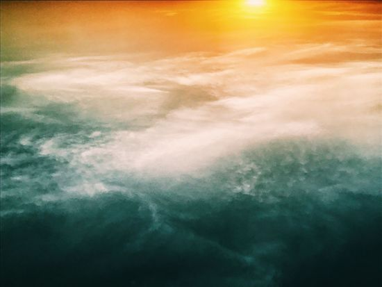 Upside down. A sea of clouds Nature Beauty In Nature Scenics Sky Cloudscape Tranquil Scene Tranquility Environment Sunset Sky Only Dramatic Sky Heaven Cloud - Sky (null)Eyeem Philippines Colors