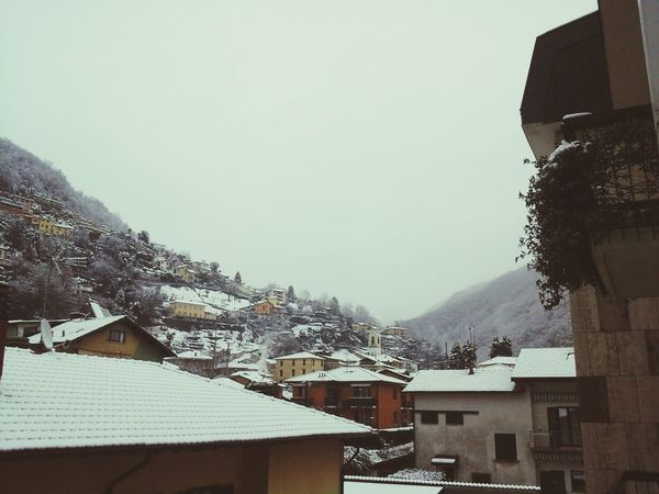 Maccagno Sotto La Neve. First Eyeem Photo