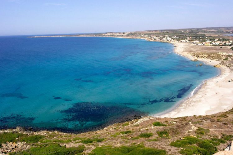 Beach Blue Blue Sky Clear Sky Clear Water High Angle View Hot Kristallklar Landscape Nature No People Outdoors Sand Sardegna Sea Sky Strand Tranquility Wasser Water Wave The Great Outdoors - 2017 EyeEm Awards