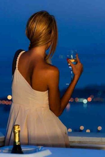 Drink at the beach or ocean...with love and romance and dreams...