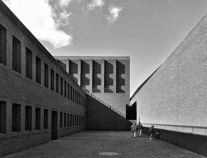 IPhoneography Architecture Blackandwhite IPSShadows Creative Light And Shadow