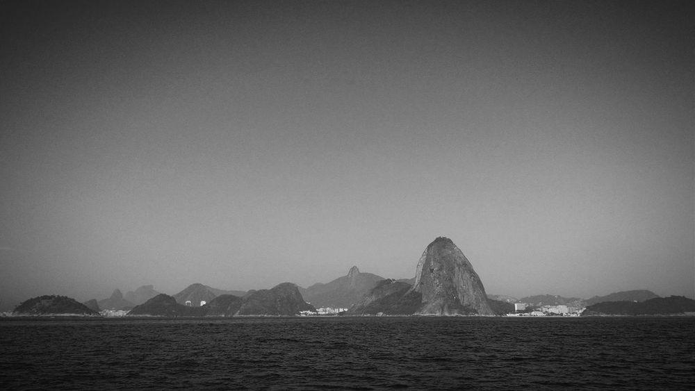 Rio Rio De Janeiro Pão De Açucar Blackandwhite B&w Urban Geography Sugar Loaf Urban Landscape Mobilephotography Mountains
