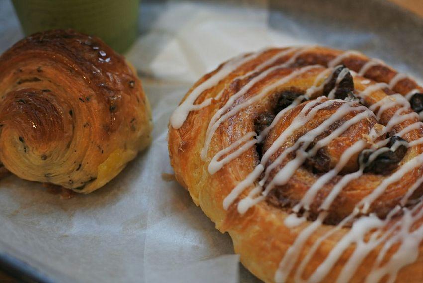 クロワッサン Cinamonroll Bread Yummy Food Lunchtime