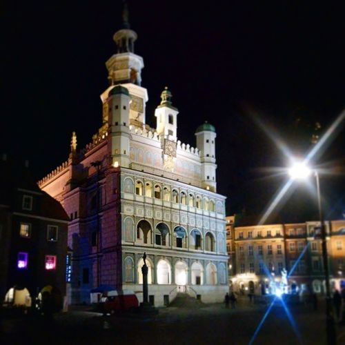 Since it's the best! Town Hall Oldmarket Oldtown architecture downtown Poznan Poland