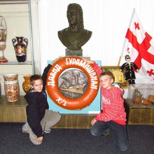 музей гурамишвили хорол миргород путешествие экскурсия сын друзья дети child children museum ukraine