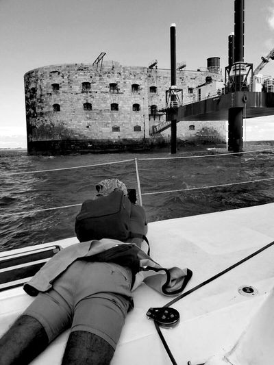 Fort Boyard Paparazzi Black & White Black And White Collection  Blackandwhite Photography
