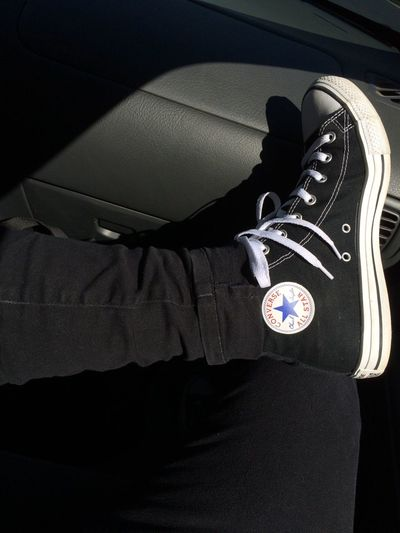 Blackconverse Converse All Star Converse ❤