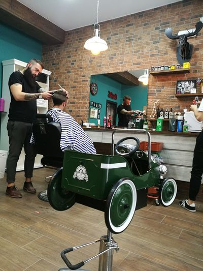 Barbershop Barberstyle Fashion City Life Huawei P9 Photos