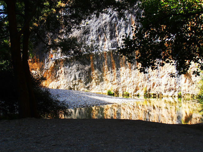 Canon Del Rio Vero In The Shadow Spain♥ Alone In The Woods Beauty In Nature Hot Days Reflections River Sunburnt